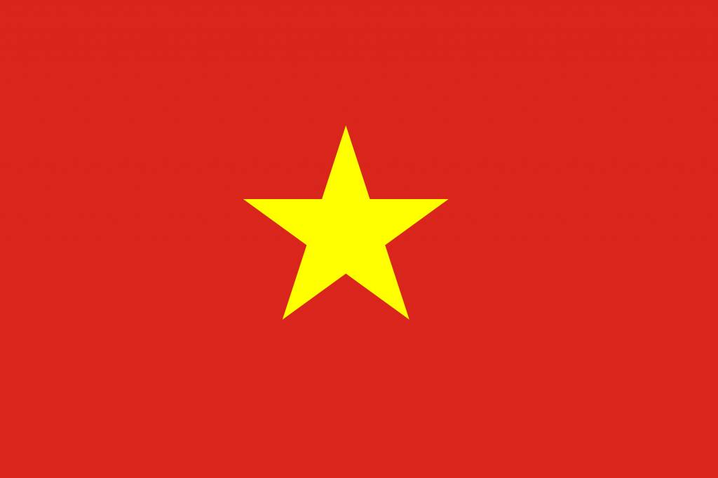 Vietnam flag icon - country flags